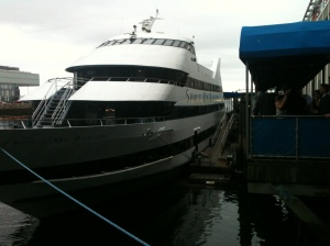 PHS Clippers board an ocean vessel for prom...I love it.