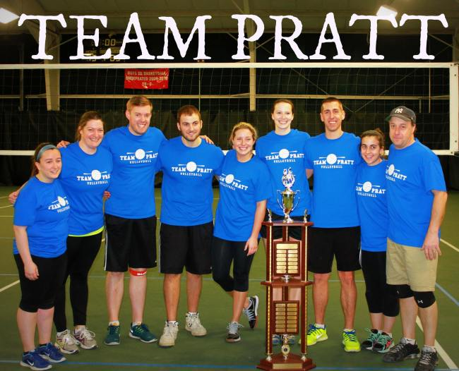 Team Pratt, 2015.  Putnam Lion's Club Volleyball Champions.