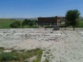 Same Refugee Camp in Turkey after it was demolished.