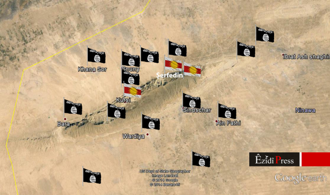Iraq-Yezidi-Community-Surrounded-by-IS-on-Mount-Sinjar